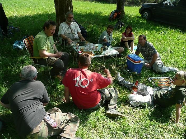 Brigáda v Klačne T.O. Mescalero