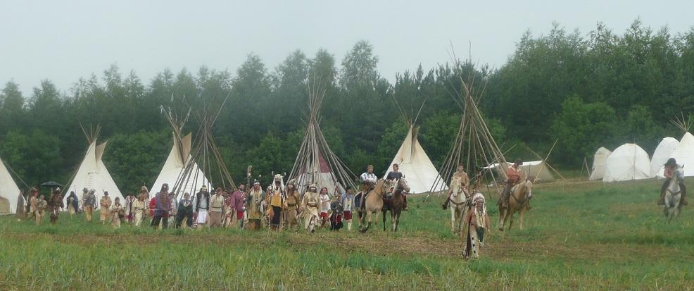 Indiánske Války 2012- Brezno u Chomutova
