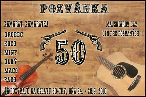50-tka na Majsniarovom laze 2010
